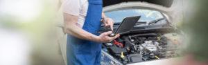 Überprüfung des Automotors