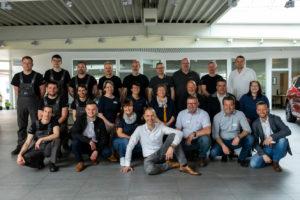 Autohaus Burmeister Komplettes Team